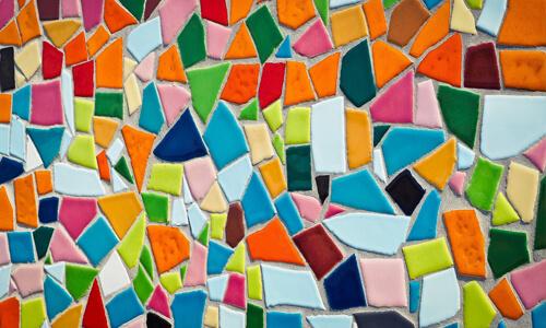 Kunsttherapie - Mosaik